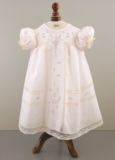 Light Pink Christening Gown