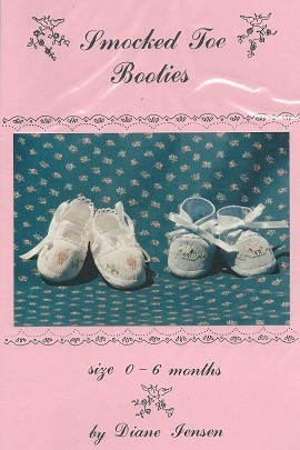 Smocked Toe Booties